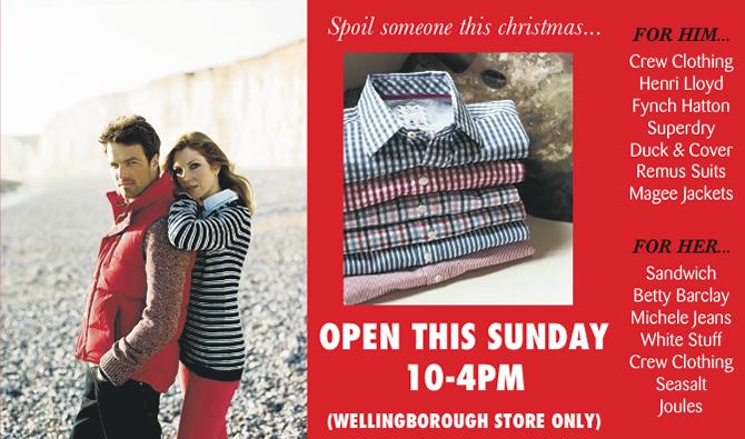 Warwicks open 10-4 this Sunday 22nd December